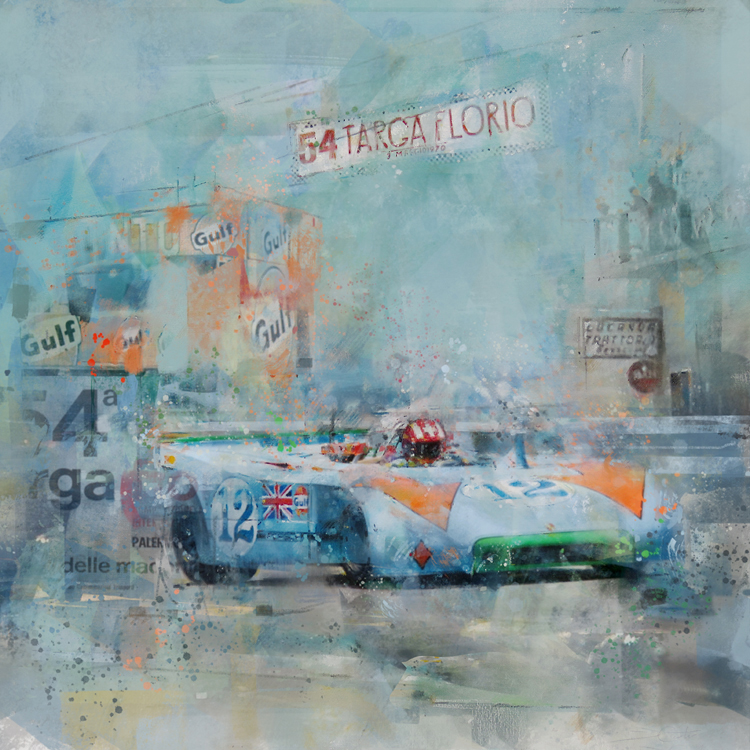 1970 -  Porsche 908/3 at the Targa Florio
