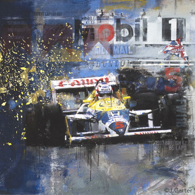 Mansell-FW11B